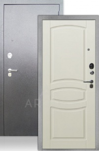 Входная дверь ДА 64 Монако белый шелк