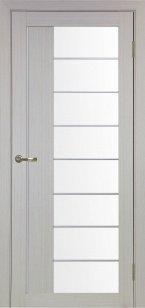 Дверь 524.22 АСС мат.хром ст. сатин