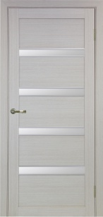 Дверь 505 АПС мат.хром ст. сатин