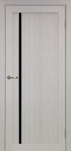 Дверь 527 АПС мат.хром ст. черное
