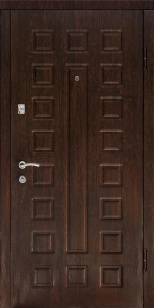 Входная дверь Люкс венге/беленый дуб
