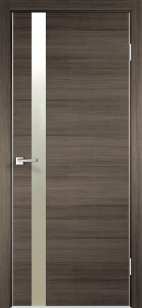 Дверь Техно Z1 с алюминиевой кромкой