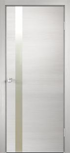 Дверь Техно Z1 с алюминиевой кромкой с замком Морелли