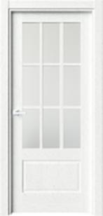 Дверь Лувр ст. решетка