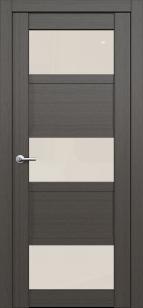 Дверь Эштон 5 ст. белое лакобель