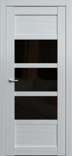 Дверь Эштон 6 ст. черное лакобель