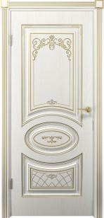 Дверь Вителия ДГ патина золото