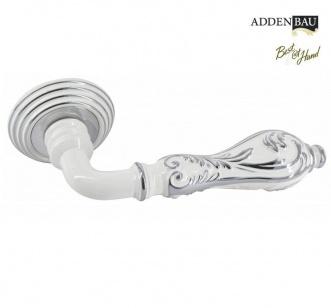 Дверная ручка ADDEN BAU PALAZZO V201 хром/белый хром с подсветкой