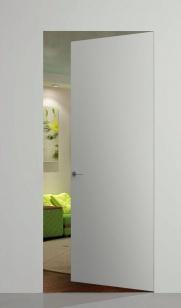 Дверь REVERSE INVISIBLE под покраску скрытого монтажа (обратное открывание)
