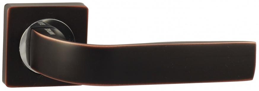 Дверная ручка VANTAGE V01 BL черная с патиной