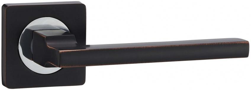 Дверная ручка VANTAGE V53 BL черная с патиной
