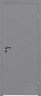 Двери крашенные серые RAL 7040 (финки)