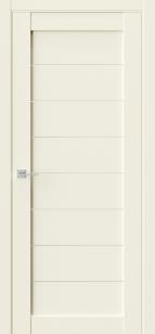 Дверь Триумф Q 48 бежевый эмалит ст сатин