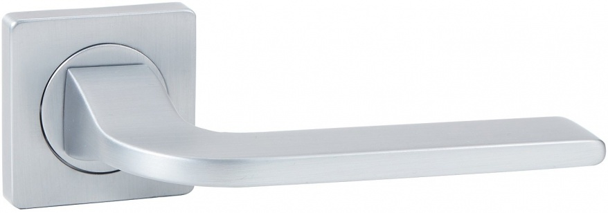 Дверная ручка VANTAGE V55L-2 AL матовый хром