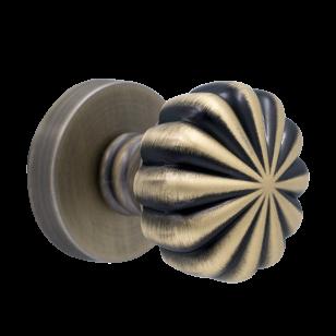 Дверная ручка PIRUETTE Вега L143 античная бронза
