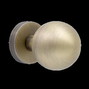 Дверная ручка PIRUETTE Орион L146 античная бронза