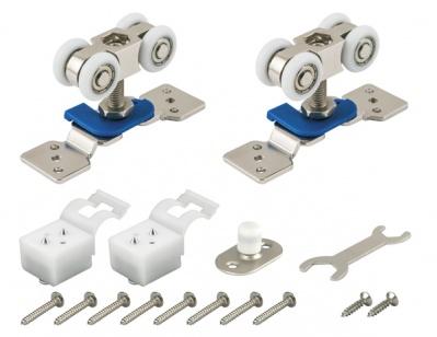 Фурнитура для двухстворчатой раздвижной двери DIY Comfort 60/4 kit