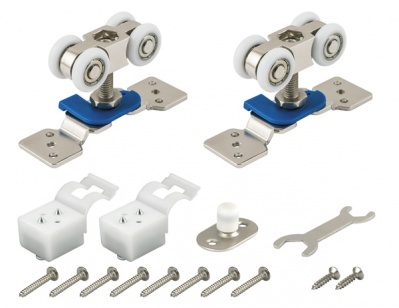 Фурнитура для одностворчатой раздвижной двери DIY Comfort 60/4 kit