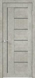 Дверь Лофт 3 ст. мателюкс графит