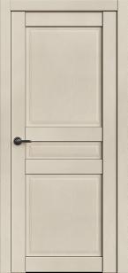 Дверь Корона 3 Айвори софт глухая