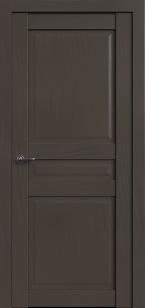 Дверь Корона 3 Сильвер софт глухая