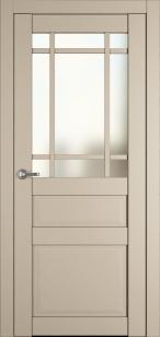 Дверь Роял 5 айвори софт ст. матовое