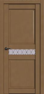 Дверь Корона 6 капучино софт ст. матовое Ромб