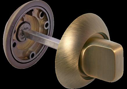 Завертка MH-WC матовая античная бронза
