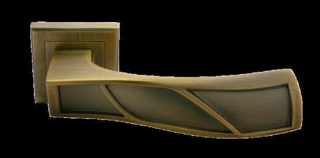 Дверная ручка MORELLI Крылья MH-33 кофе