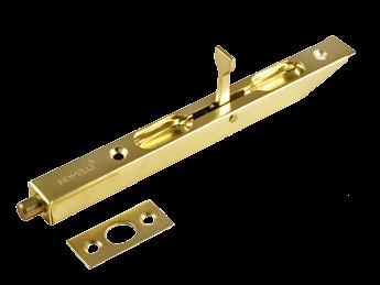Торцевой шпингалет L160 PG золото