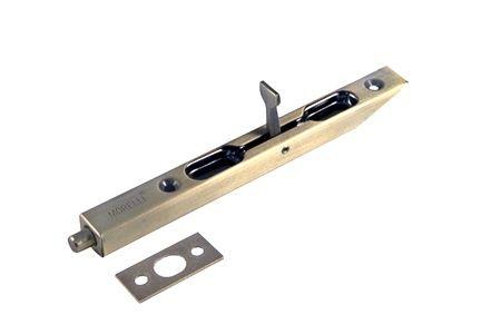 Торцевой шпингалет L160 AB античная бронза